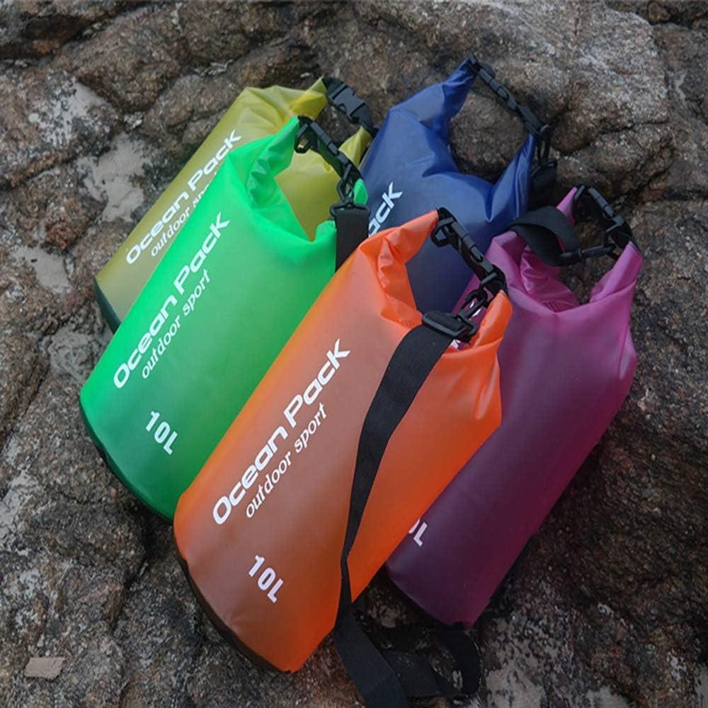Loao 2l Sangle D/épaule R/églable en Longueur pour La Pratique du Kayak//Bateau De P/êche//Natation//Camping//Ski,Blue,2L 5l 10l 20l Sac /étanche Sac /étanche 15l