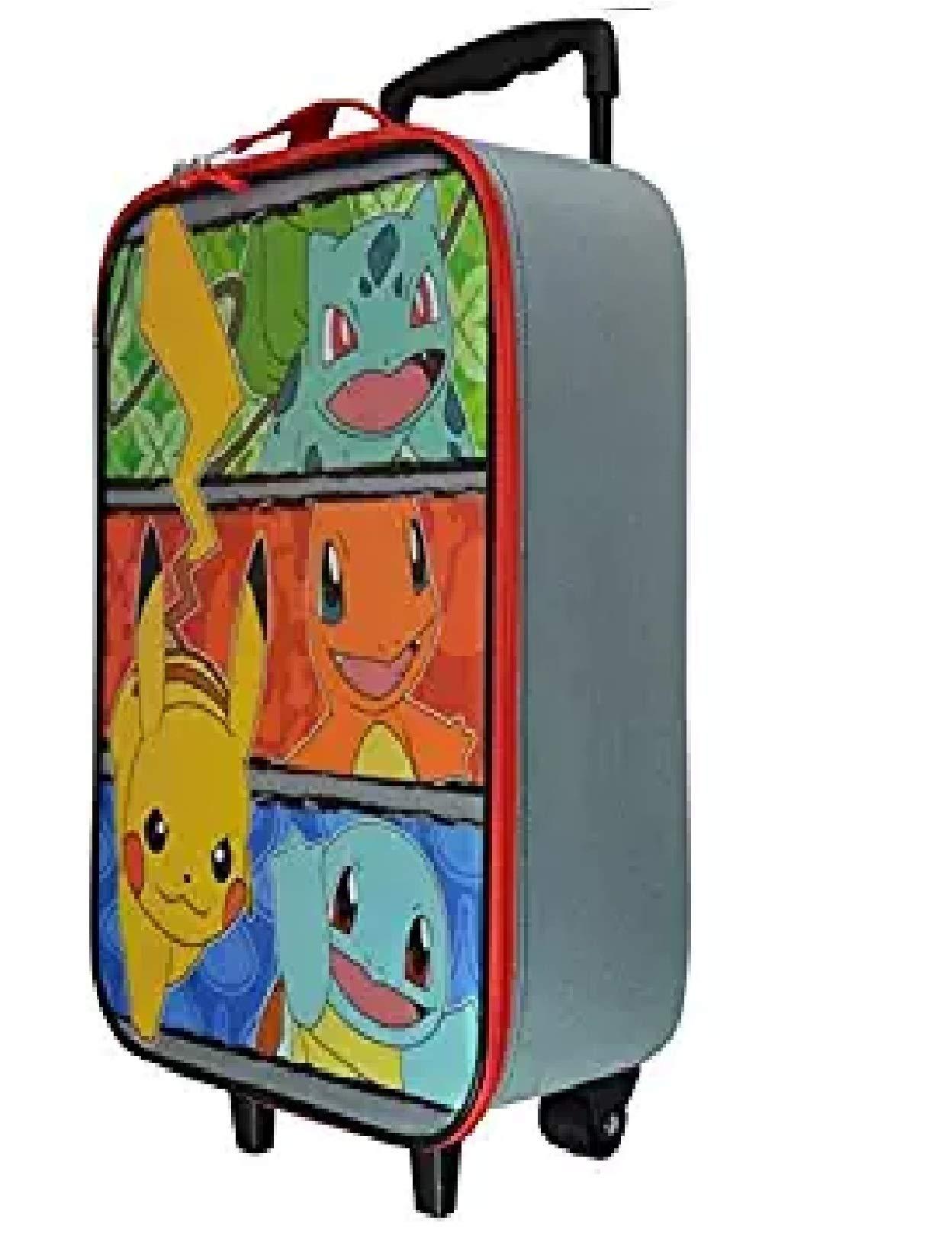 Pokemon Pikachu Friends Large Pilot Case - Kid's Luggage  