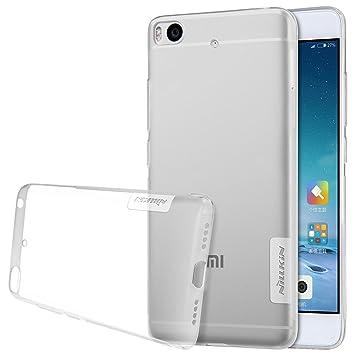 Nillkin Nature - Carcasa trasera protectora y antideslizante de gel TPU para Xiaomi Mi5S - Transparente
