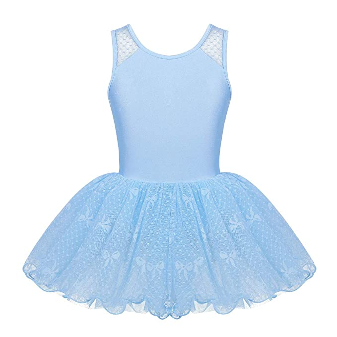 ranrann Vestido de Danza Ballet para Niña Disfraz de Bailarina ...