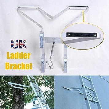 Kit de accesorios para escalera, tipo V, resistente, soporte para escalera, fácil de usar, soporte para escalera, 10 años de garantía: Amazon.es: Bricolaje y herramientas