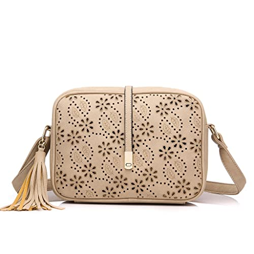 Realer Small Shoulder Bags PU Leather Side Purse Cross Body for Women