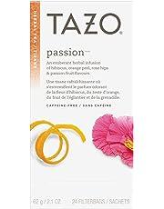 Tazo Passion Herbal Tea, 6x24 Tea Bags, 144-Count (Pack of 6)