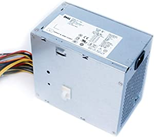Genuine Dell M1J3H 525w Watt Power Supply PSU For Precision T3400 Systems Compatible Part Numbers: M1J3H, 7JVXX, D525AF-01 (Renewed)