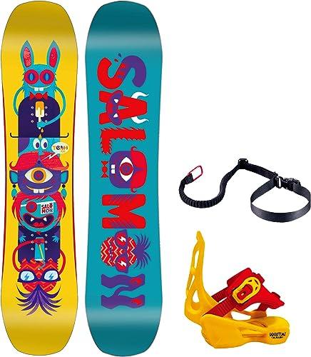 Salomon Team Snowboard w Goodtime XS Bindings Kids