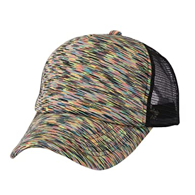 22f8a2ff4d5399 Image Unavailable. Image not available for. Color: 2019 New Baseball Golf Cap  Men Women Stylish Exquisite Mesh Adjustable Breathable Shade Sports ...