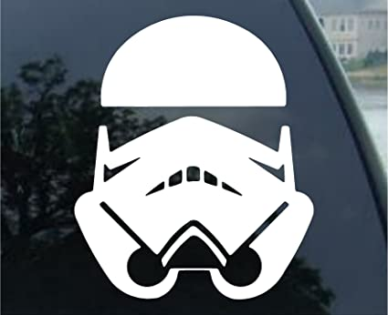 Stormtrooper star wars car truck notebook vinyl decal sticker 1032