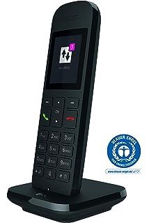 Telekom Speedphone 12 – Teléfono fijo inalámbrico, para uso con routers actuales con interfaz DECT-CAT-iq (por ejemplo, Speedport, Fritzbox), pantalla a color de 5 cm Blanco: Amazon.es: Electrónica
