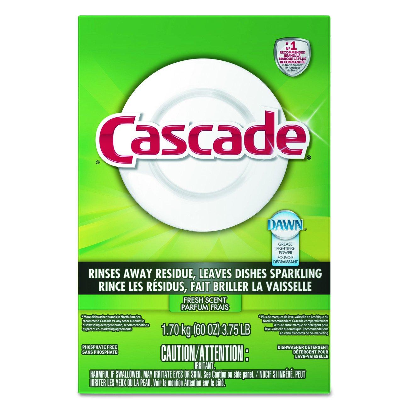 Cascade 95787CT Dishwasher Soap Powder,White