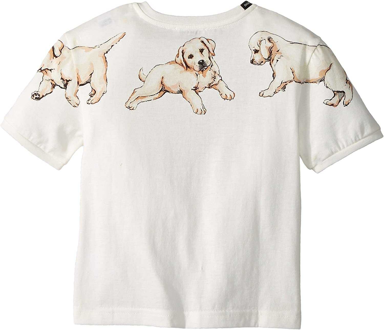 Toddler//Little Kids Dolce /& Gabbana Kids Womens Dog T-Shirt