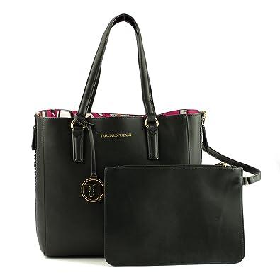 01989042db Trussardi Jeans , Sac à main pour femme noir Nero-Fucsia: Amazon.fr ...