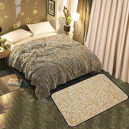 Amazon Com Warm Blanket And Floor Mat Background Image Of