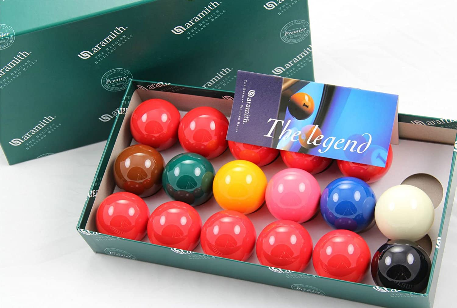 Snooker 17 Ball by Aramith 2 Inch Set