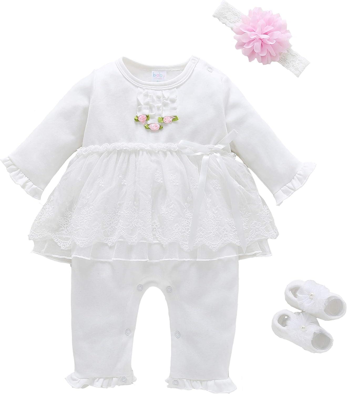 Baby Brielle Layette Onesie in Gift Box