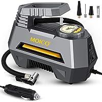 $26 » MOICO Portable Air Compressor for Car Tires, DC 12V Air Compressor Tire Inflator, Auto Air Pump…