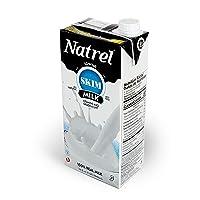 Natrel | Skim Milk | 32 Ounce | Pack of 12 | Shelf Stable Milk | Gluten-Free | Kosher...