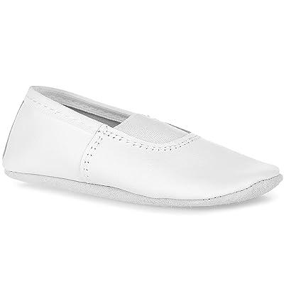 TATYZ Girls/Boys/Women/Men Genuine Leather Gymnastic Dance Fitness Shoes | Athletic