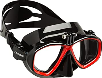 Cressi Action, máscara de buceo para cámara GoPro Unisex,