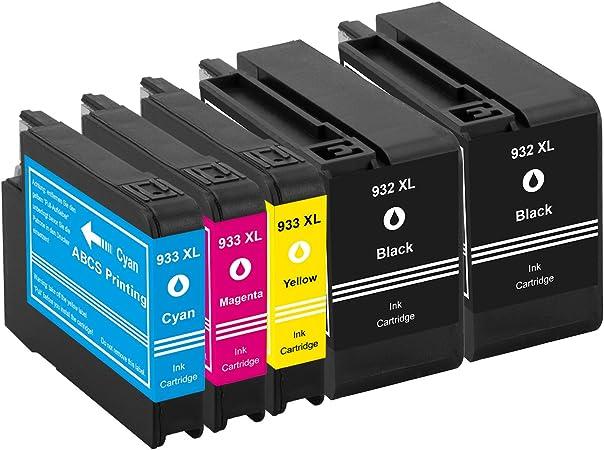 Abcs Printing Compatible cartucho HP 932XL ,Cartuchos de tinta ...