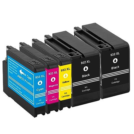 Abcs Printing Compatible cartucho HP 932XL ,Cartuchos de tinta Alta Capacidad para HP Officejet Premium