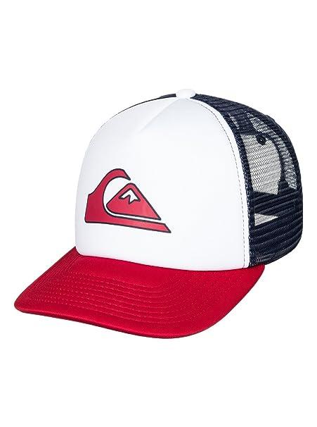 0bb14b9f2b94d Quiksilver Mens Snapper - Trucker Cap Hat White One Size  Amazon.ca ...