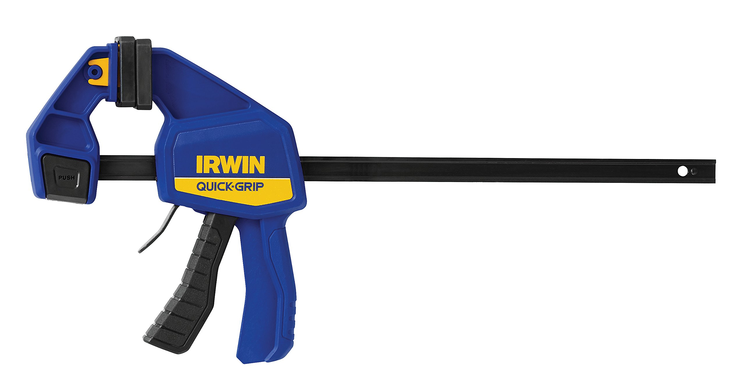 IRWINQUICK-GRIPOne-Handed Bar Clamp, Medium-Duty, 12'', 1964718