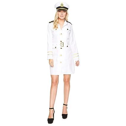 Karnival 81059 - Disfraz para mujer, color blanco, talla pequeña