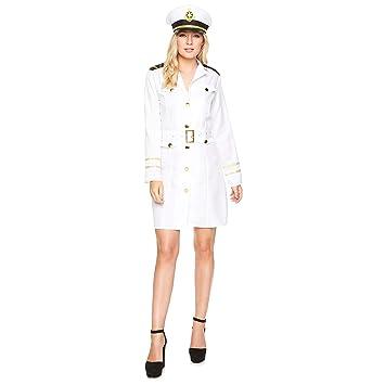 Karnival 81059 - Disfraz para mujer, color blanco, talla extra ...