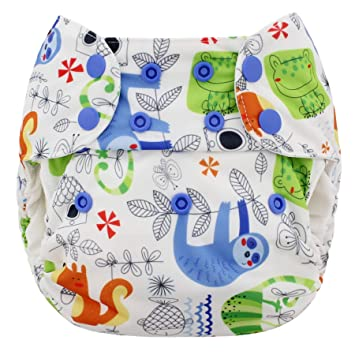 Diapering Fine Blueberry Waterproof One Size Simplex All In One Diaper