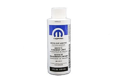Genuine Mopar Fluid 4318060AC Limited Slip Additive - 4 oz  Bottle