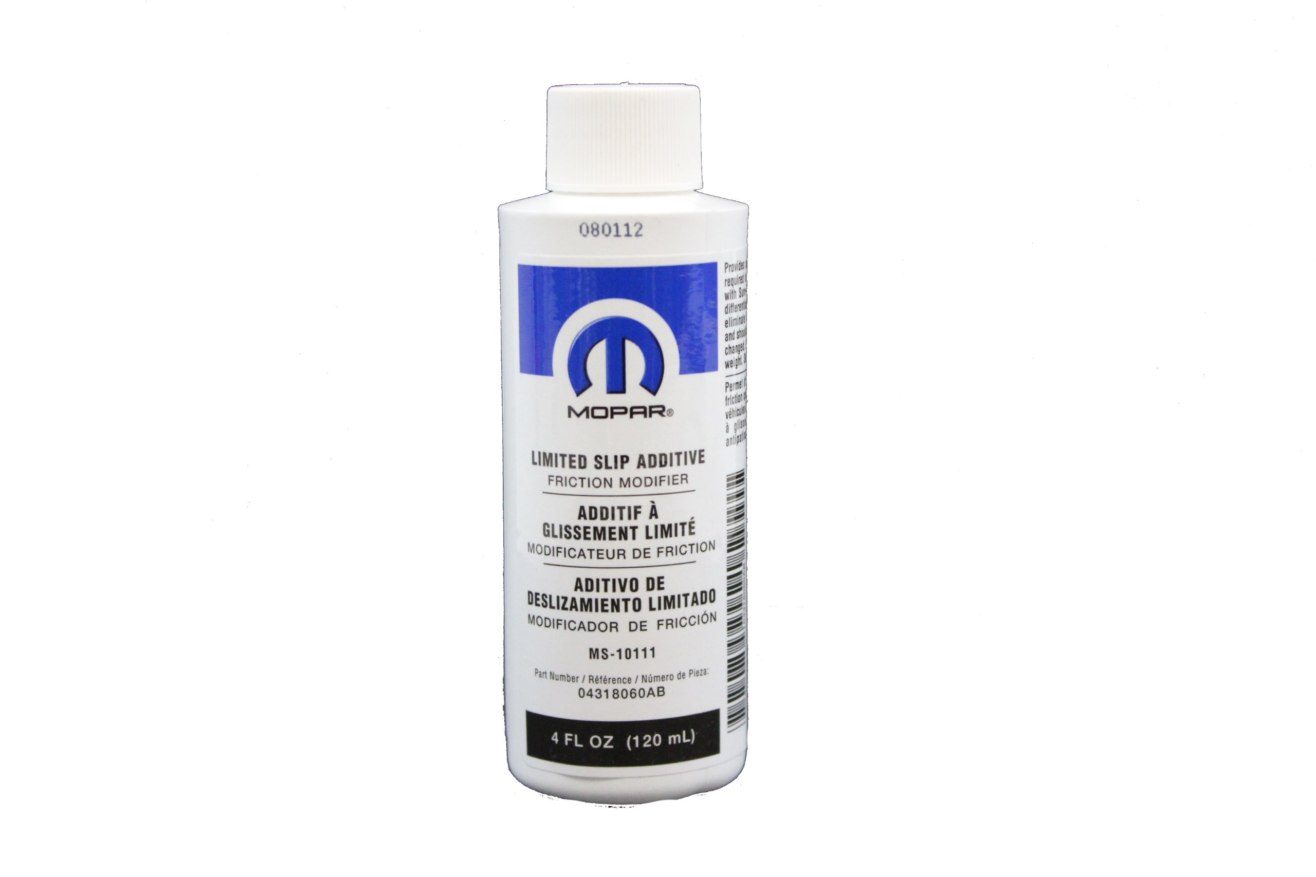 Genuine Mopar Fluid 4318060AC Limited Slip Additive - 4 oz. Bottle by Genuine Mopar
