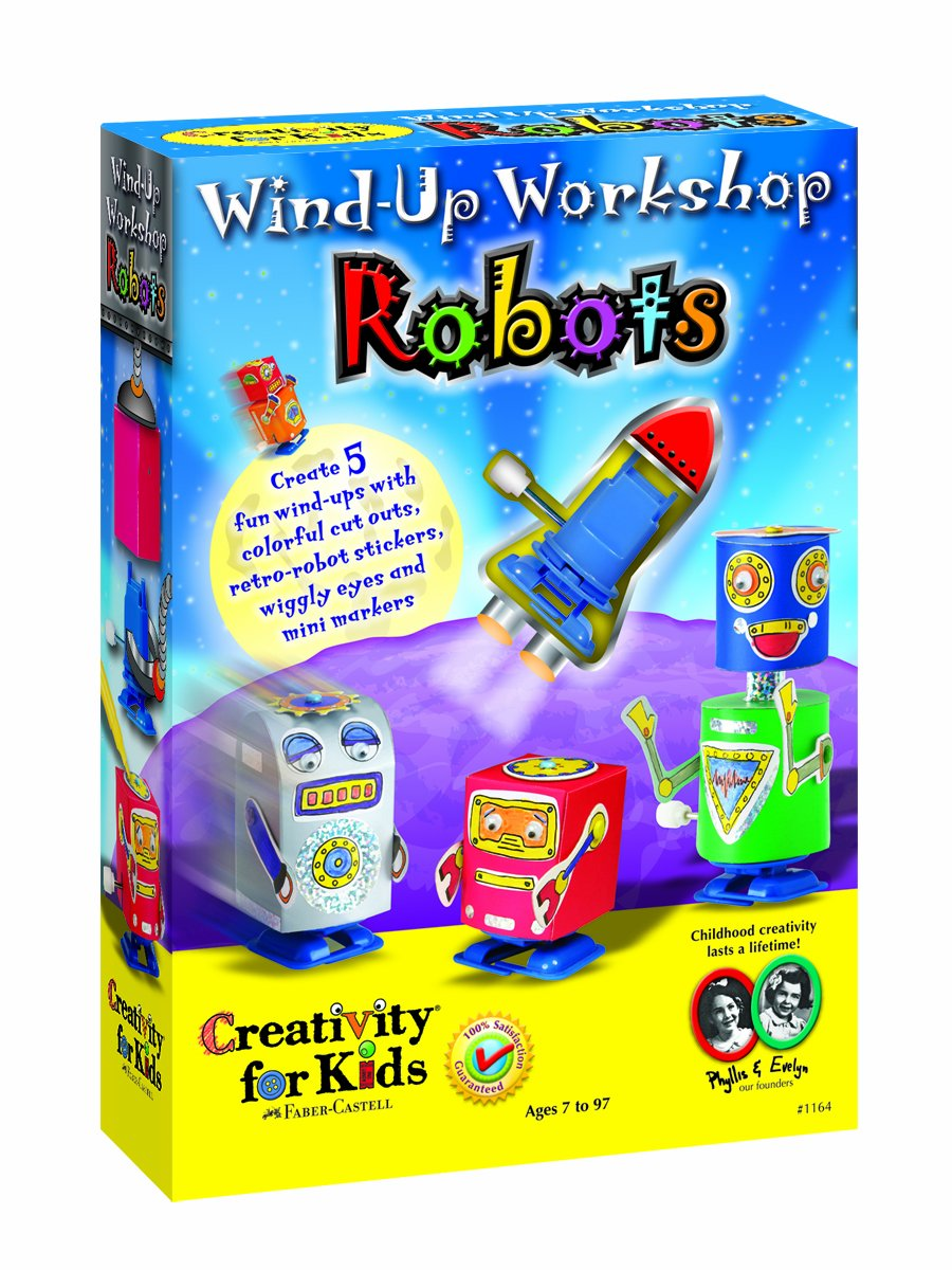 Creativity for Kids - WIND UP WORKSHOP Faber and Castell 1164