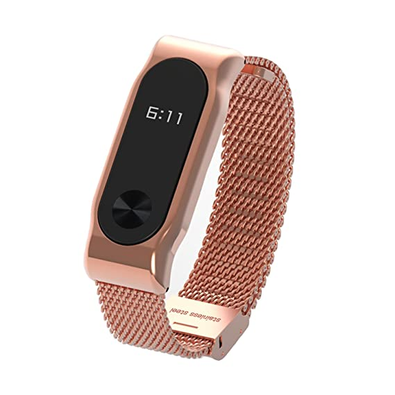Correa para Xiaomi Mi Band 2 de COOSA pulsera de acero ...