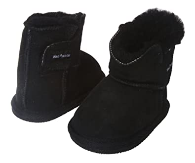 NINO Infants Genuine Suede Shearling EVA outsole Boots Size: S - (0-