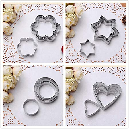 Plastic 3D Cartoon Biscuit Mold Kitchen Baking Pastry Bake ware Tool Tulip COOKIE Cutter Cookie Stamp Balloon flower cookie mold