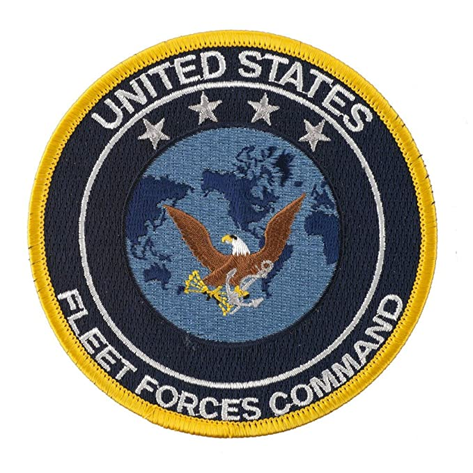 Amazon com: U S  Naval Squadron Patches - US FFC OSFM: Clothing