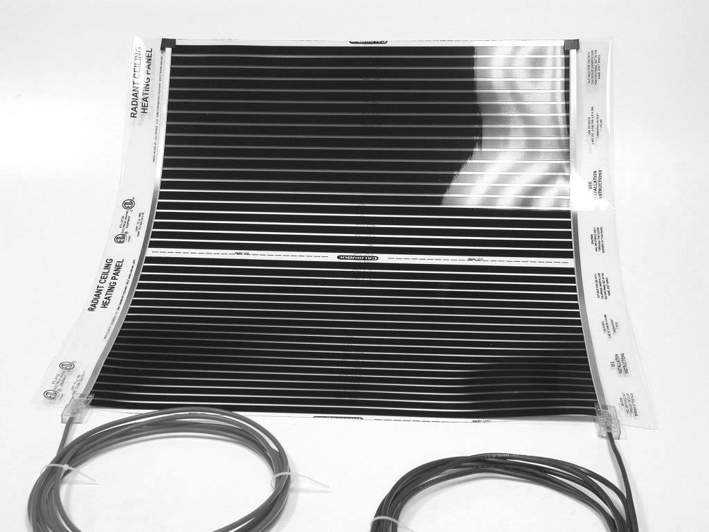 Radiant Ceiling Heat 208v 16w Flexible Film Electric Heating Wire Diagram