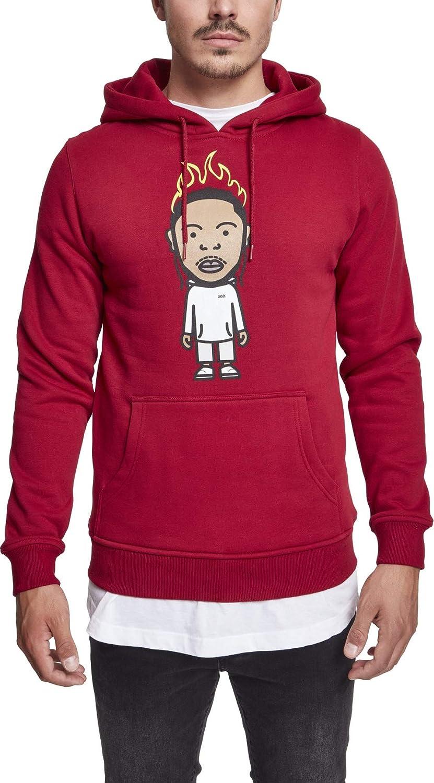 Mister Tee Herren Hoodie Kdot - Streetwear Kapuzenpullover, Ruby, Größe XS bis XL B075K68RHS Kapuzenpullover Ausgezeichnete Funktion