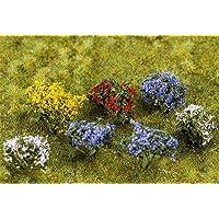 Faller FA 181269–14Extremo Arbustos Florales, Accesorios para el