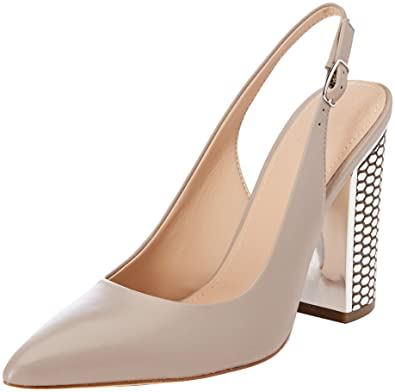 Guess Damen Footwear Dress Sling Back Pumps, Grau (Taupe Taupe), 37 EU