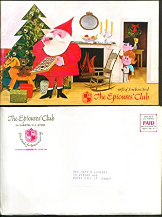 Christmas Mail Order Catalog.Epicures Club Fine Food Mail Order Catalog 1968 At Amazon S