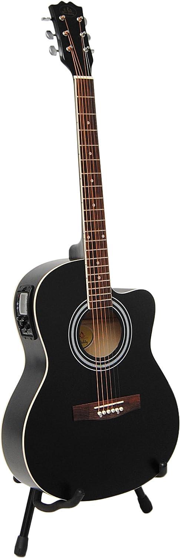 ts-ideen 4505 - Kit de guitarra acústica (4/4, afinador con ...