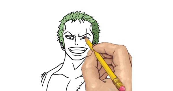 10+ Ide Sketsa Gambar Zoro - The Toosh