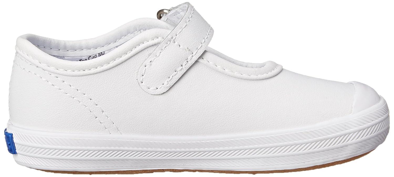 Infant//Toddler Keds Champion Toe Cap Mary Jane Sneaker White 4 M US Toddler KP30119
