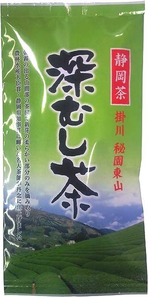 大塚製茶 秘園東山深むし茶 100g