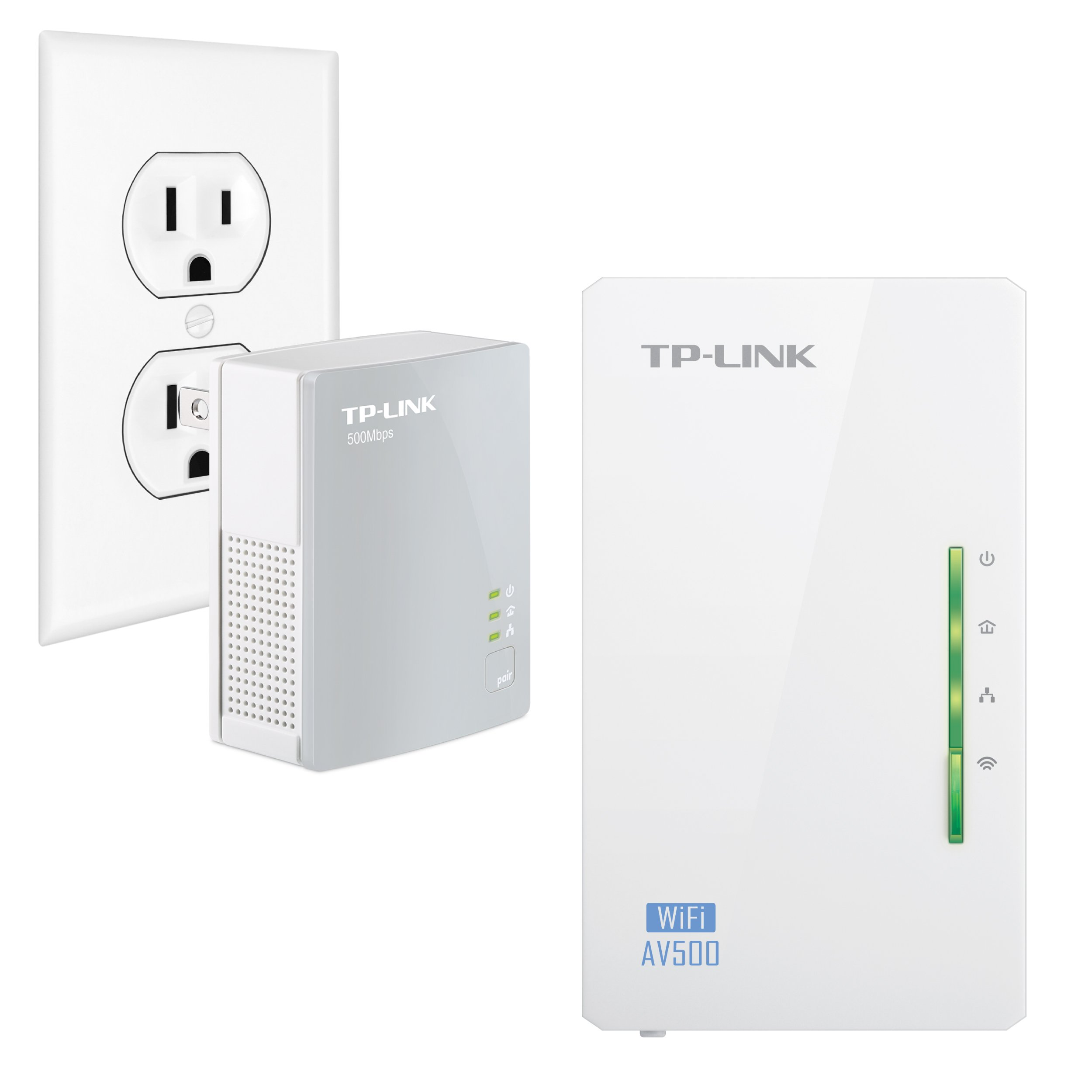 TP-Link N300  Powerline Gigabit Wi-Fi Kit , 2-Kit (N300) by TP-Link
