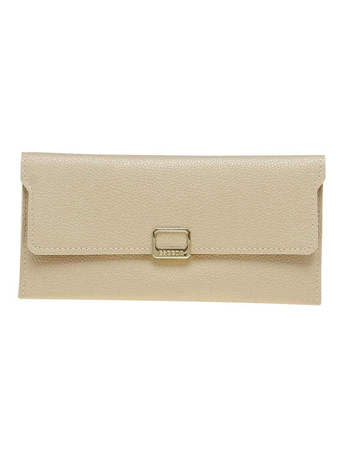ESBEDA Gold Solid Pu Synthetic Material Wallet For Women's: Amazon