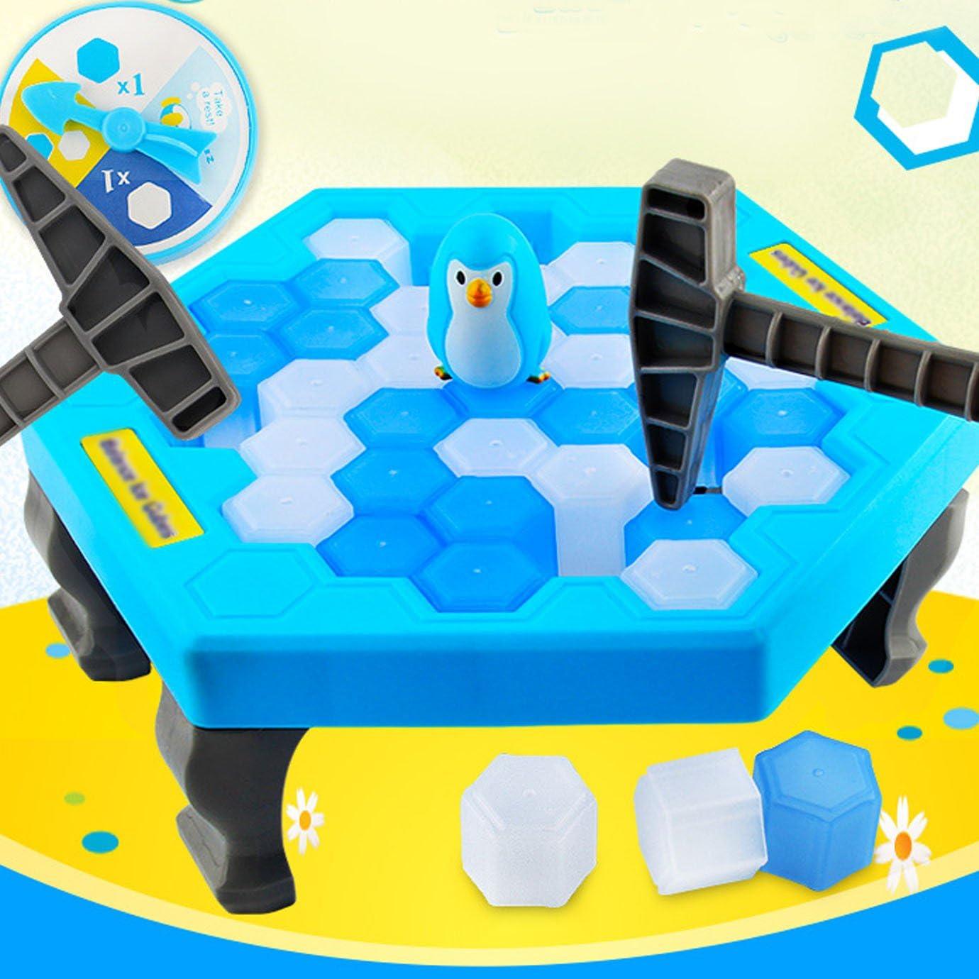 Meliya Balance Cubitos de hielo rescate pingüino rompecabezas mesa juegos interactivos de escritorio juegos de fiesta: Amazon.es: Juguetes y juegos