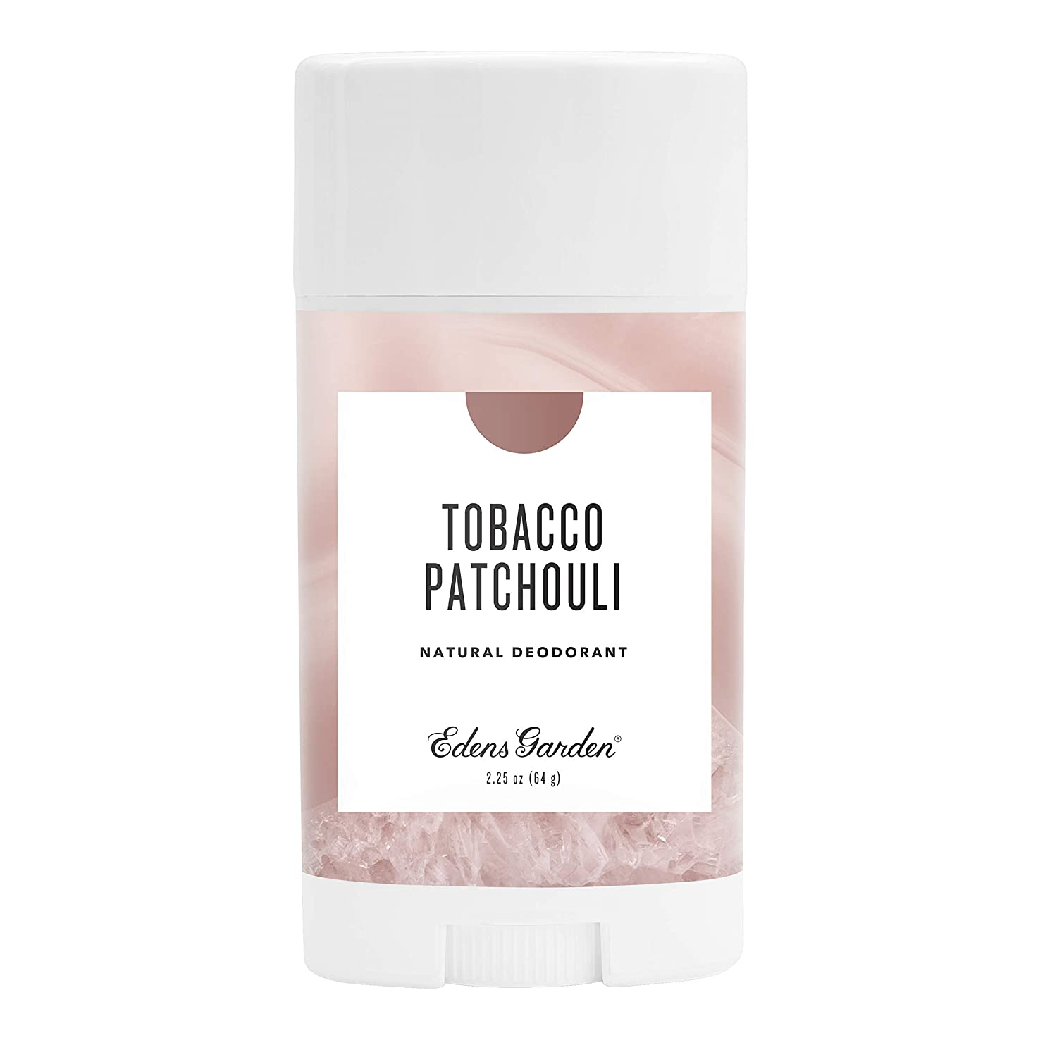 Edens Garden Tobacco Patchouli Natural Deodorant, Aluminum & Baking Soda Free (For Normal & Sensitive Skin), Made With Essential Oils, Vegan, For Men & Women, 2.25 oz
