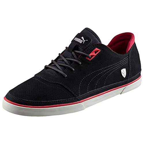 20b93a971914 Puma Ferrari Vulcanized Black Men s Shoes (12 Uk)  Buy Online at Low ...